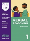 Image for 11+ Practice Papers Verbal Reasoning Pack 1 (Multiple Choice)