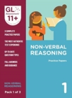 Image for 11+ Practice Papers Non-Verbal Reasoning Pack 1 (Multiple Choice)