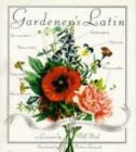 Image for Gardener's Latin