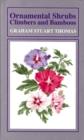 Image for Ornamental shrubs, climbers and bamboos  : excluding roses and rhododendrons