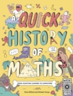 Image for A quick history of maths  : from counting cavemen to computers