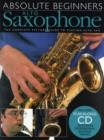 Image for Absolute Beginners : Alto Saxophone