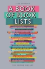 Image for A book of book lists