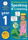 Image for Speaking & listening  : photocopiable activities for the literacy hour: Year 1