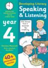 Image for Speaking & listening  : photocopiable activities for the literacy hour: Year 4
