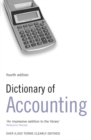 Image for Dictionary of accounting