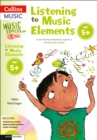 Image for Listening to music elements  : active listening materials to support a primary music scheme: Age 5+