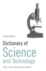 Image for Dictionary of science and technology