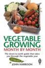 Image for Vegetable growing month by month