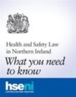 Image for Health and safety law in Northern Ireland : what you need to know (pack of 25 pocket cards)