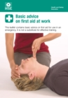 Image for Basic advice on first aid at work (pack of 20)