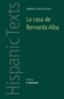 Image for La Casa De Bernarda Alba : By Federico Garcia Lorca
