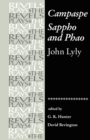 Image for Campaspe and Sappho and Phao : John Lyly