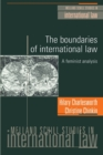 Image for The boundaries of international law  : a feminist analysis