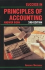 Image for Success in principles of accounting  : answer book : Answer Book
