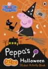 Image for Peppa Pig: Peppa's Halloween Sticker Activity Book