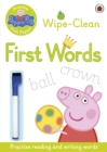 Image for Peppa Pig: Practise with Peppa: Wipe-Clean First Words