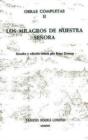 Image for Los Milagros de Nuestra Senora (Obras Completas II)