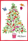 Image for Andy Warhol Christmas Tree Boxed Holiday Notecards : Holiday Half Notecards