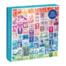 Image for Phat Dog Vintage Stamps 500 Piece Puzzle