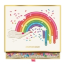 Image for Jonathan Adler Rainbow Hand 750 Piece Shaped Puzzle
