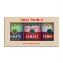 Image for Andy Warhol Soup Cans Set of 3 Shaped Puzzles in Tins