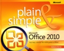 Image for Microsoft Office 2010 plain & simple