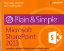 Image for Microsoft SharePoint 2013 plain & simple