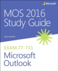 Image for MOS 2016 study guide for Microsoft Outlook