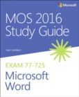 Image for MOS 2016 study guide for Microsoft Word