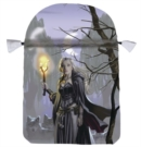 Image for Witches Moon Satin Tarot Bag