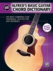 Image for ALFREDD BASIC GUITAR CHORD DICTIONARY