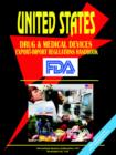 Image for Us Drug and Medical Devices Export-Import Regulations Handbook