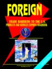 Image for Foreign Trade Barriers to the U.S. Products and Services Exports Handbook