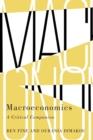 Image for Macroeconomics  : a critical companion