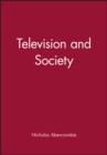 Image for Television and society