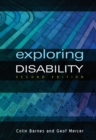 Image for Exploring disability