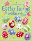 Image for Easter things to make and do
