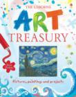 Image for The Usborne art treasury