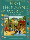 Image for The Usborne Internet-linked first thousand words in Polish  : with Internet-linked pronunciation guide