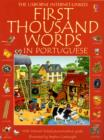 Image for The Usborne Internet-linked first thousand words in Portuguese  : with Internet-linked pronunciation guide