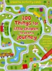 Image for 100 Things for Little Children to Do on a Journey