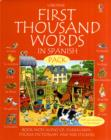 Image for First 1000 words pack - Spanish