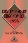 Image for Contemporary Ergonomics 1996