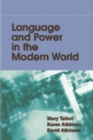 Image for Language and power in the modern world