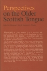 Image for Perspectives on the older Scottish tongue  : a celebration of DOST