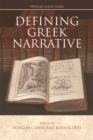 Image for Defining Greek narrative
