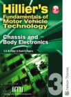 Image for Hillier's fundamentals of motor vehicle technologyBook 3: Chassis and body electronics
