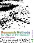 Image for Research methods for AQA 'A' psychology  : all you need to know!
