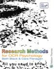Image for Research methods for OCR Psychology
